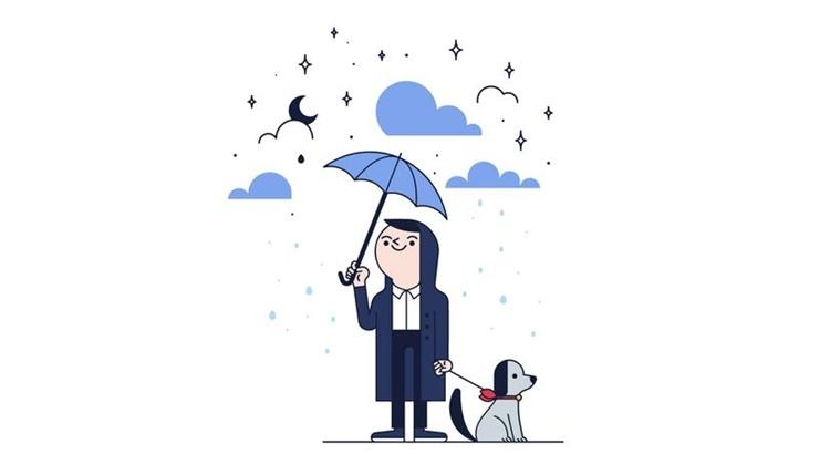 Обряд против дождя
